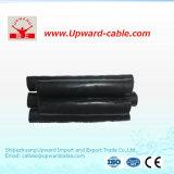 Câble électrique de conducteur en aluminium de 3 faisceaux