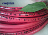 Cloth and Smooth Surface Black and Colorful Hydraulic Hose
