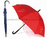 Выдвиженческий отражательный прямой зонтик гольфа