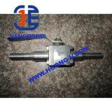 L'acier modifié à haute pression DIN 3PC a modifié le robinet à tournant sphérique de bride