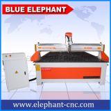 Grande máquina popular do CNC de China do tamanho com o eixo refrigerar de ar de Italy Hsd