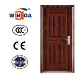 Casa popular del mercado de Europ usar la puerta de acero del metal de la seguridad (W-S-146)