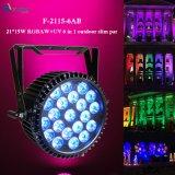 Alta calidad 6 en 1 luz al aire libre de la IGUALDAD del LED