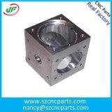 Peças feitas à máquina alumínio fazendo à máquina do CNC do equipamento da precisão
