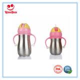 Beste Edelstahl-Baby-Flaschen-personifizierte Wasser-Flaschen für Kinder