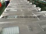 80W 1개의 태양 가로등 램프에서 옥외 LED 정원 빛 공장 전부