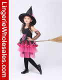 Девушки черные и Costume ведьмы причудливый платья горячего пинка