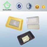 Rectángulos plásticos disponibles de la industria cárnica del uso industrial del alimento con las pistas absorbentes