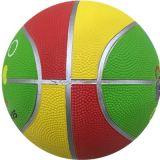 Baloncesto de goma del niño del mini color