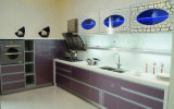с белой UV доски MDF для домашней мебели (dB-001)