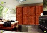 De Amerikaanse Deur van de Keukenkast van pvc van de Stijl Moderne (yg-014)