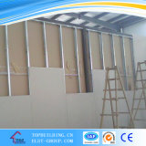 Placa do teto da gipsita/umidade - placa de gipsita da prova/placa do Plasterboard/gipsita 1220X2440X12mm