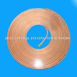 Tubo de cobre flexible En1057 para el agua y el gas