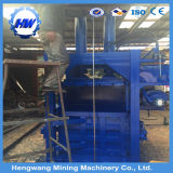 Máquina eléctrica hidráulica vertical Baler algodón para el empacado de residuos de algodón y papel