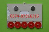 Taper à B 12.5*8.8cm la carte matérielle magnétique d'entrepôt de carte mémoire de carte avec des numéros