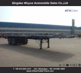 ' semirimorchio a base piatta della piattaforma della sospensione resistente dell'asse in tandem 40 alto con l'argano per trasporto di contenitore o del carico all'ingrosso