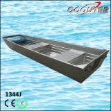 barco de pesca de aluminio de la parte inferior plana del 13FT (1344J)