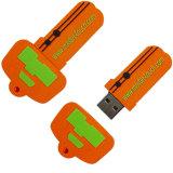 Lecteur flash USB de PVC d'OEM pour la promotion avec la bonne qualité