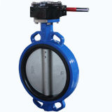 Bolacha Type Butterfly Valve D371X com CE Certification