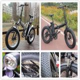 Bicicleta elétrica do pneu 20inch gordo popular com frame Foldable Rseb507