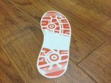 자동 접착 이동할 수 있는 발자국 지면 스티커를 인쇄하는 주문 크기 싼 풀 컬러