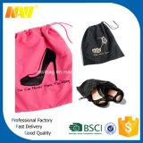sac bon marché de chaussure de cordon du polyester 210d
