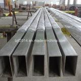 TP304 de Naadloze Vierkante Pijp van het roestvrij staal