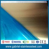 201 feuilles recuites lumineuses d'acier inoxydable de 0.5mm Hl/No. 4 /Brushed/