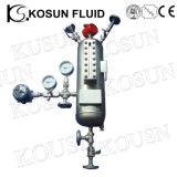 Double réservoir de pression du système auxiliaire API682 de joint mécanique