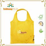sac à provisions pliable réutilisable du polyester 190t avec le logo polychrome fait sur commande