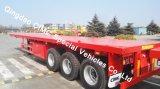 reboque Flatbed do caminhão de 40FT Semi com os 3 eixos para vendas