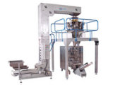 Peso automático e máquina de embalagem
