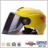 Glänzender gelber Sommer-Sturzhelm für Roller/Motorrad (HF319)