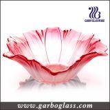 Migliore ciotola di frutta di vetro di vendita di colori della caratteristica di riserva