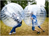 Rodillo/bola populares de Zorp Inflatables