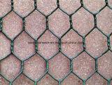 Baixa rede de fio sextavada galvanizada do MERGULHO quente do fio do carbono