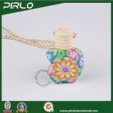 12ml 15ml de Kleurrijke Flessen van de Klei van het Polymeer voor Fles van het Glas van de Essentiële Olie van de Geur van Aromatherapy van de Auto van het Parfum de Lege met Deksel Hing