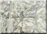 最高と評価された大理石は台所カウンタートップのテーブルの上の虚栄心の上の装飾材料のための水晶石造りの平板を着色する