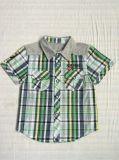 스퀘어 6243 아이 옷에 있는 면 소년 셔츠