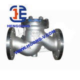 ANSI/API/DIN Wcb/Form-Stahl-Schwingen-Flansch-Rückschlagventil