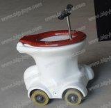 Conduite portative de chemin de toilette de vente chaude à vendre, conduite extérieure de Kiddie