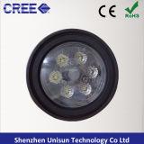 """4.5 de """" lâmpada do trabalho agricultural do diodo emissor de luz do CREE PAR36 18W"""