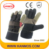 Vente de Rainbow meubles en cuir des gants de travail de la sécurité industrielle (310 081)