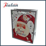 Papá Noel imprimió la bolsa de papel del caramelo de las ventas al por mayor del día de la Feliz Navidad
