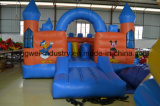 Het pvc met een laag bedekte materiaal van het bouncykasteel