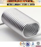 Tube enroulé d'acier inoxydable d'ASTM A269 TP304 pour l'échangeur de chaleur