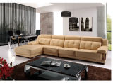 Sofá moderno de Sectional com sofá Furniture de Leather