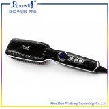 Гребень раскручивателя волос щетки утюживет электрический выправлять гребня прямых волос