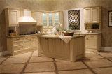 De Deur van de Keukenkasten van het Chinees hout met Countertop