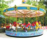 광저우 중국에 있는 간단한 Carousel Amusement Machine Manufacturer